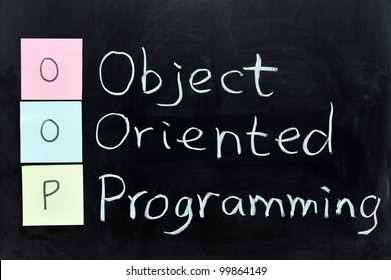 Chalk writing - OOP, Object Oriented Programming