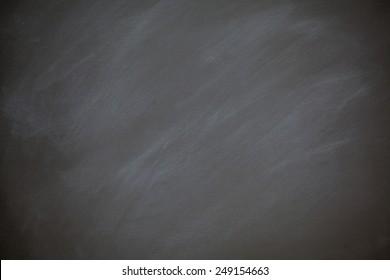 Chalkboard Blackboard Background Retro Style Charcoal Gray Chalk Board with Chalk Dust Eraser Marks