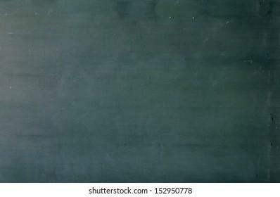Chalkboard blackboard. Green chalk board texture empty blank