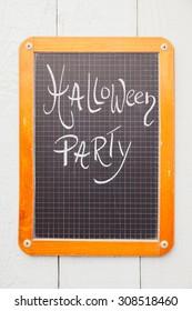 Chalkboard, Halloween Party