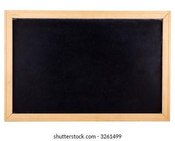 Chalkboard isolated on white