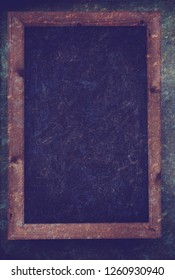 Chalkboard on a grunge background