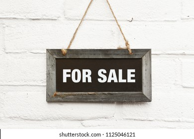 Chalkboard with text for sale