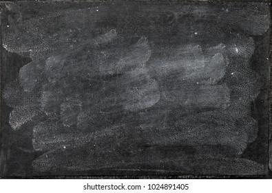 Chalkboard texture. Blank washed blackboard backgroud