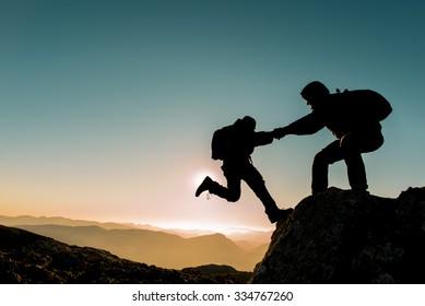 challenging climbing peak