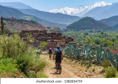 Challenging Mountain Bike Tours in the Atlas Mountains of Morocco
