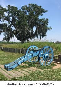 Chalmette battlefield site