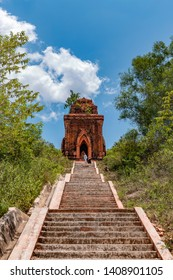 Cham towers Banh It in Tuy Phuoc district, Binh Dinh province, Vietnam
