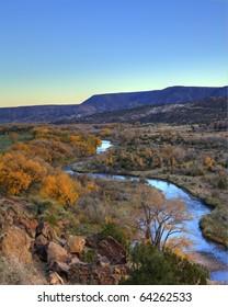 Chama River near Ghost Ranch, Abiquiu, New Mexico