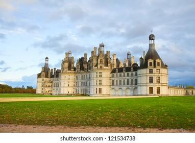 Chambord castle,  Loire valley,F rance