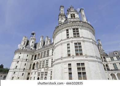 Chambord. France. Chateau of the Loire Valley.