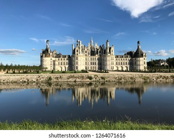 The Château of Chamerolles France Moat