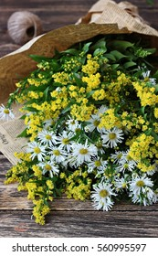 Chamomile flower bouquet