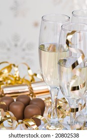 Champagne & chocolates for Christmas