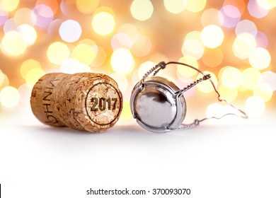 Champagne cork / New year 2017