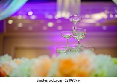 champagne glass wedding