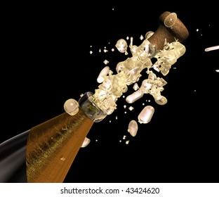 Champagne pops up