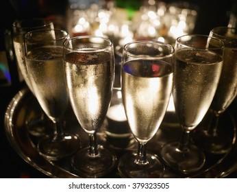 champagner glasses celebration