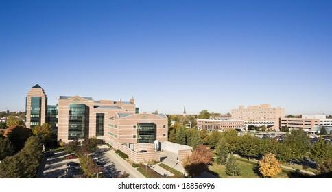 Champaign, IL - University Buildings.