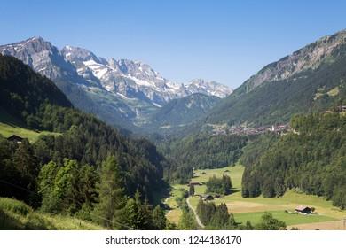Champery in Switzerland