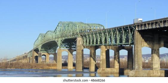 Champlain Bridge of Montreal Quebec #1
