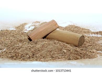 Chandan Sandalwood Sandalwood Sticks Perfume Selective Stock Photo