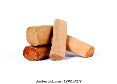 Chandan or sandalwood, sandalwood sticks, perfume, selective focus - Image