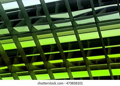 Chandelier of fluorescent lamp