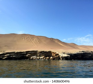 The Chandelier: Lines in the sand at Paracas, Peru