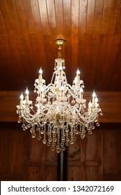 Chandeliers, beautiful light, luxury light