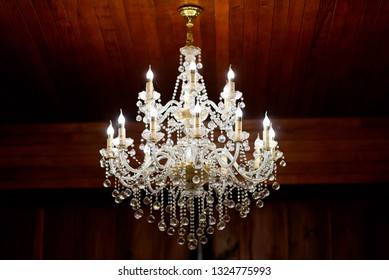 Chandeliers, luxury light