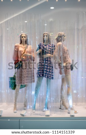 ef8878a408c Chanel Shop Emquatier Bangkok Thailand Apr Stock Photo (Edit Now ...