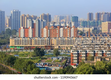 CHANGCHUN-AUG. 10, 2018. View on urban area. Changchun is the capital of Jilin Province. According to the 2010 census of China, Changchun had a total population of 7,674,439 under its jurisdiction.
