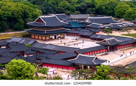 changdeokgung palace at seoul south Korea