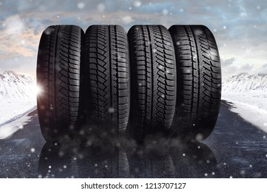 change a car tires from summer for winter