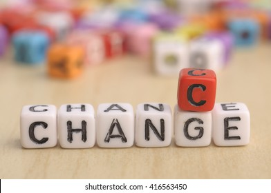 CHANGE TO CHANCE word on Dices