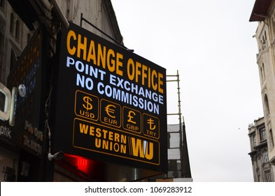 Change Office - Western Union -  14 April 2018 - Istanbul Turkey