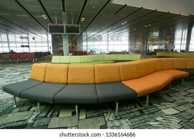 Waiting Area Furniture Stock Photos, Images & Photography