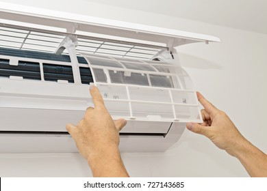 Changing the Filter in the Air Conditioning The Concept of Safe and Healthy Housing Improving Air Quality in Your Home TO WASH YOUR FILTER REGULARLY