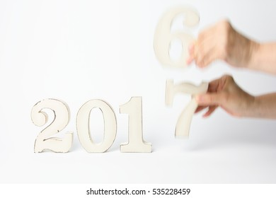 Changing year concept