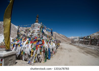 Changla pass highest motorable road in Leh, Ladakh India.