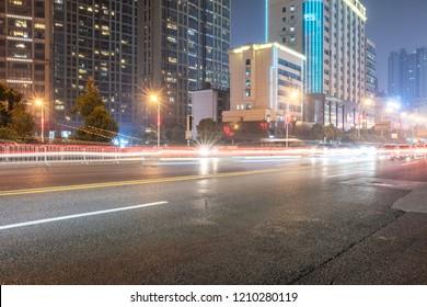 Changsha city night scenery