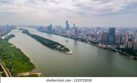Changsha Xiangjiang River Profile