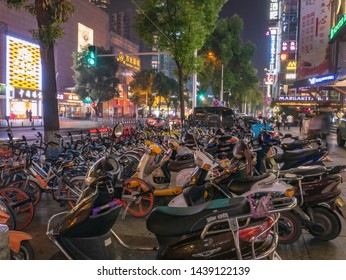 Changsha/China-17 October 2018: Beautiful urbanscape in Changsha city China.changsha is the capital and most populous city of Hunan province in china