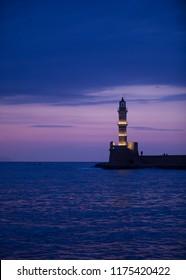 Chania island in Greece