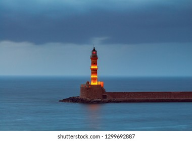 Chania. Old lighthouse.