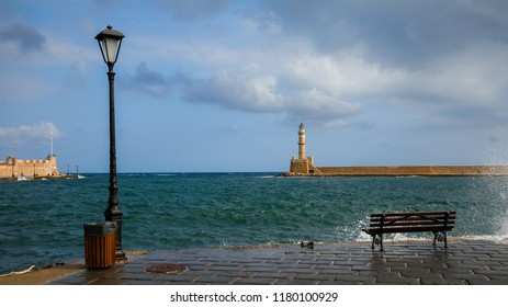 Chania ,the second largest city of Crete,Greece