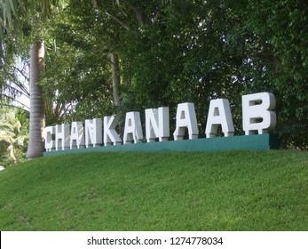 Chankanaab park sign