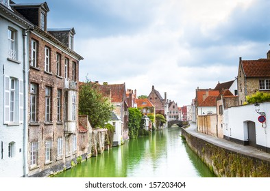 Channels of Bruges. Belgium