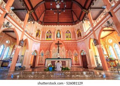 CHANTABURI, Jan 2016 : Maephra Patisonti Niramon Church, Chantaburi, Thailand.